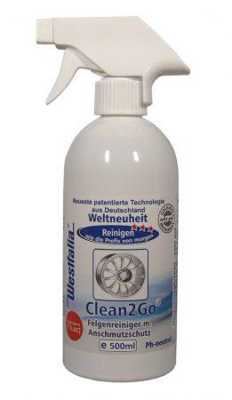 CLEAN2GO felni tisztító és védő, 500 ml.
