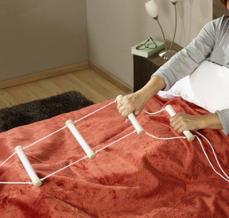 Ágy kötéllétra/ felállási segítség, fluoreszkáló- önmaga világít a sötétben