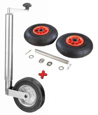 Iker rögzítő kerék személygépkocsi utánfutóhoz