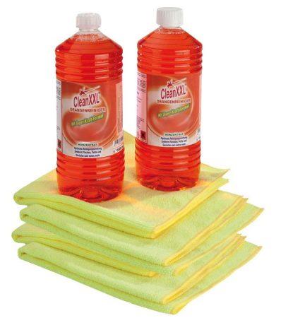 Clean XXL narancsos tisztítókoncentrátum, 6 részes szett