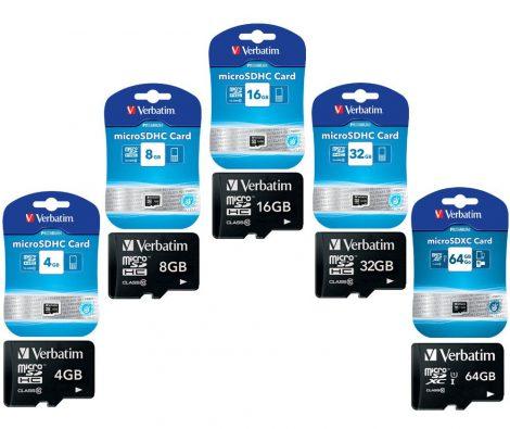 Micro SD kártya, 4 GB – CLASS 10 (SDHC CARD).