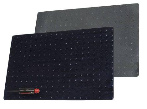 Fűthető PVC szőnyeg 12 V / 25 W, 60 x 40 cm – szürke