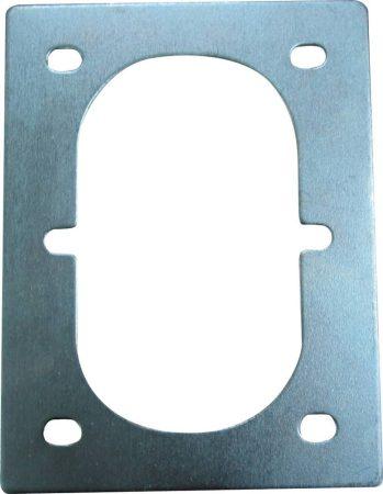 Padlózatba süllyeszthető rögzítő szemhez lemezalátét - dupla
