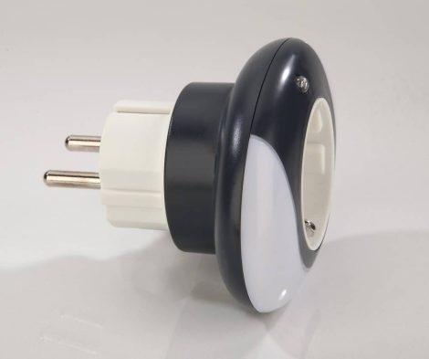 Heitronic LED éjszakai fény közdugalj 2 LED-es, 0,3 watt, nappali és éjszakai szenzor