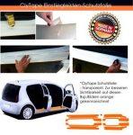 CLYTAPE küszöbvédő fólia, Nissan Micra K13, 2011-03-tól, ötajtós