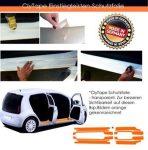 CLYTAPE küszöbvédő fólia VW GOLF VI CABRIO, 2011-től, háromajtós.