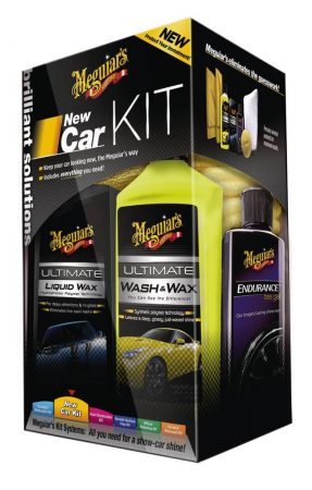 MEGUIAR'S BRILLIANT SOLUTION, NEW CAR CARE KIT autóápoló.