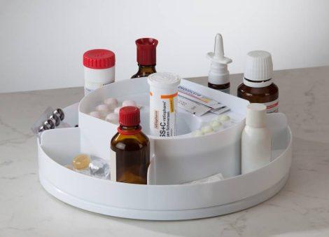 Forgatható gyógyszertárca