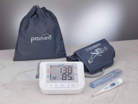 Felkar vérnyomásmérő PBM 3.5 + lázmérő 3.7