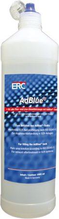 ERC ADBLUE 1 liter, minden személygépkocsi és tehergépkocsi dízel gépjárműhöz, ADBLUE tankkal.