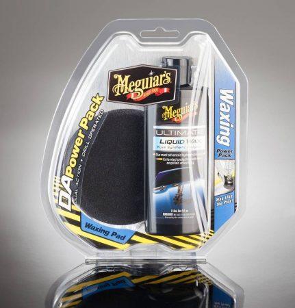 """MEGUIAR'S DA POWER PACK """"WAXING"""" – viaszoló, 118 mm, polírozó szivacs 102 mm átmérővel."""