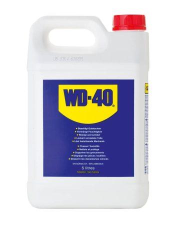 WD-40 univerzális olaj, WD40 5 literes kannában.