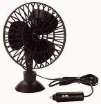 Autós ventilátor 12 V, könnyen szerelhető