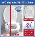 Wenko fröccsenés védett WC ülőke