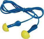 3M hallásvédő füldugó, EN 352-2, SNR= 28 dB, zsinórral és egyedi formával