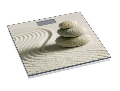 Wenko fürdőszobamérleg, sound&stone, LCD kijelző