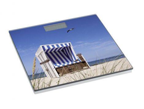 Wenko fürdőszobamérleg, strandkosár, LCD kijelző