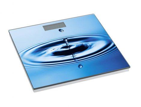 Wenko fürdőszobamérleg, water circle, LCD kijelző