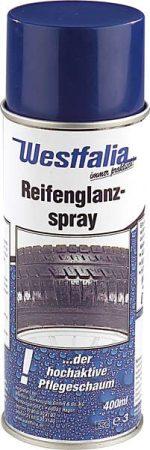 WESTFÁLIA gumi GLANZ spray.