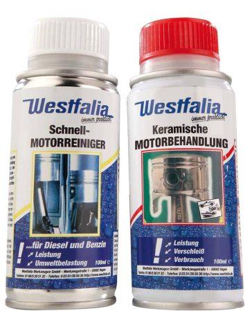 WESTFÁLIA motorkezelő + motortisztító szett