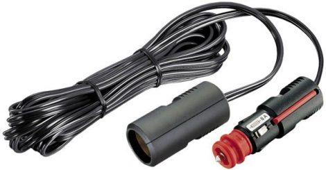 Hosszabbító kábel szivargyújtó aljzathoz, 12 V.