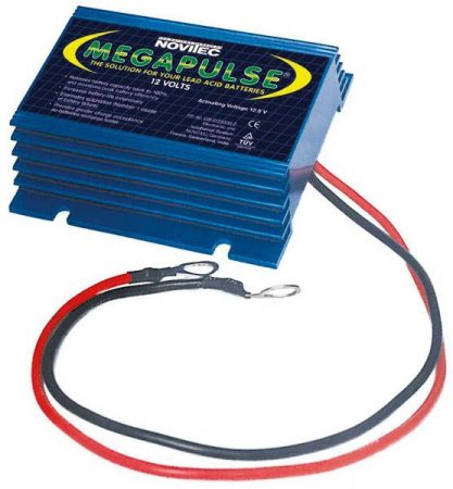 MEGAPULS 12V akkumulátoraktiváló, ólomsavas/ zselés akkumulátorhoz.