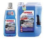 SONAX NANO-ANTIFROST & tiszta látás koncentrált téli szélvédőmosó.