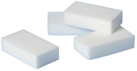 Melamin radírozó szivacs, 4 részes